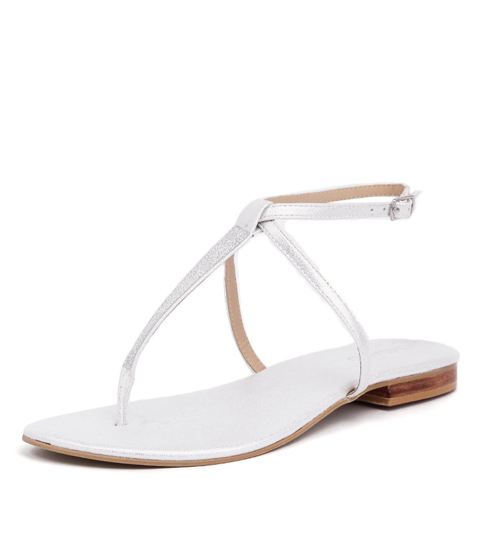 Misano Spey Silver Sandals