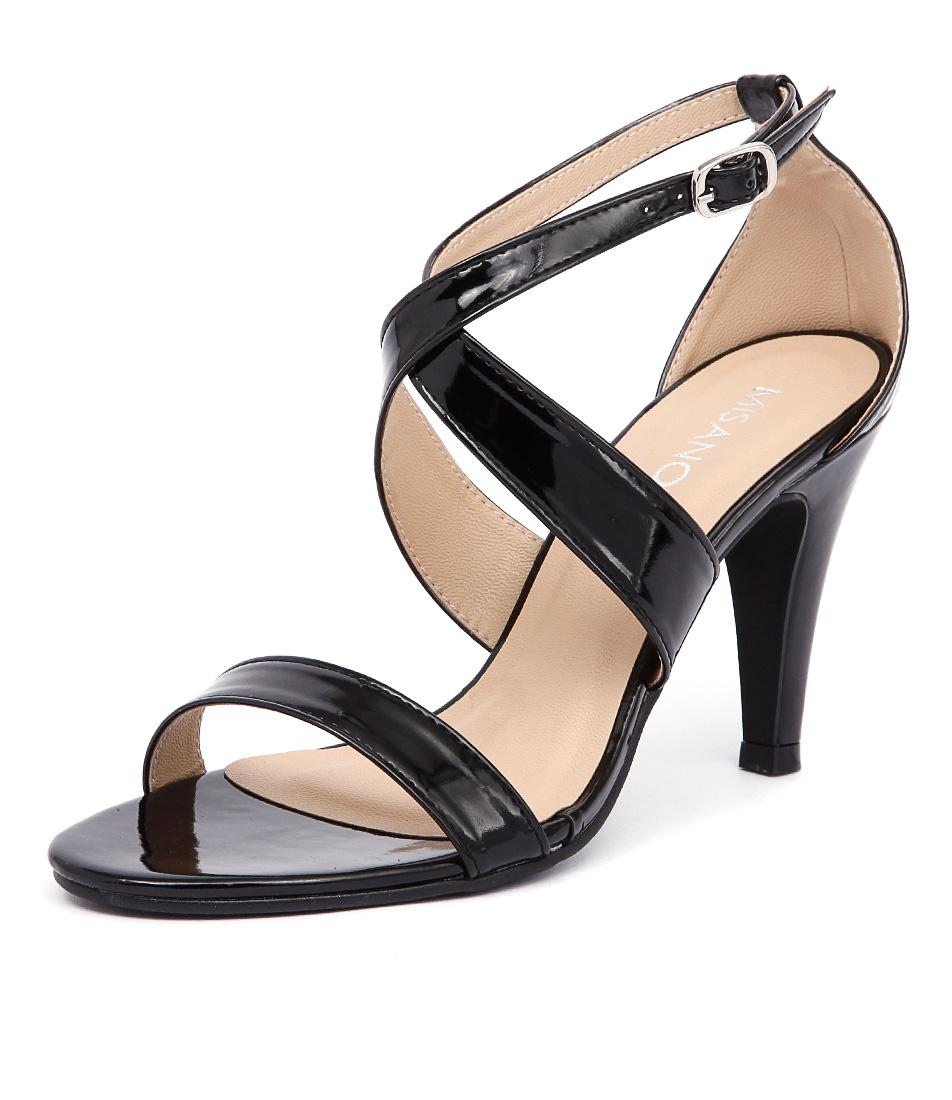 Misano Savvy Black Patent Sandals