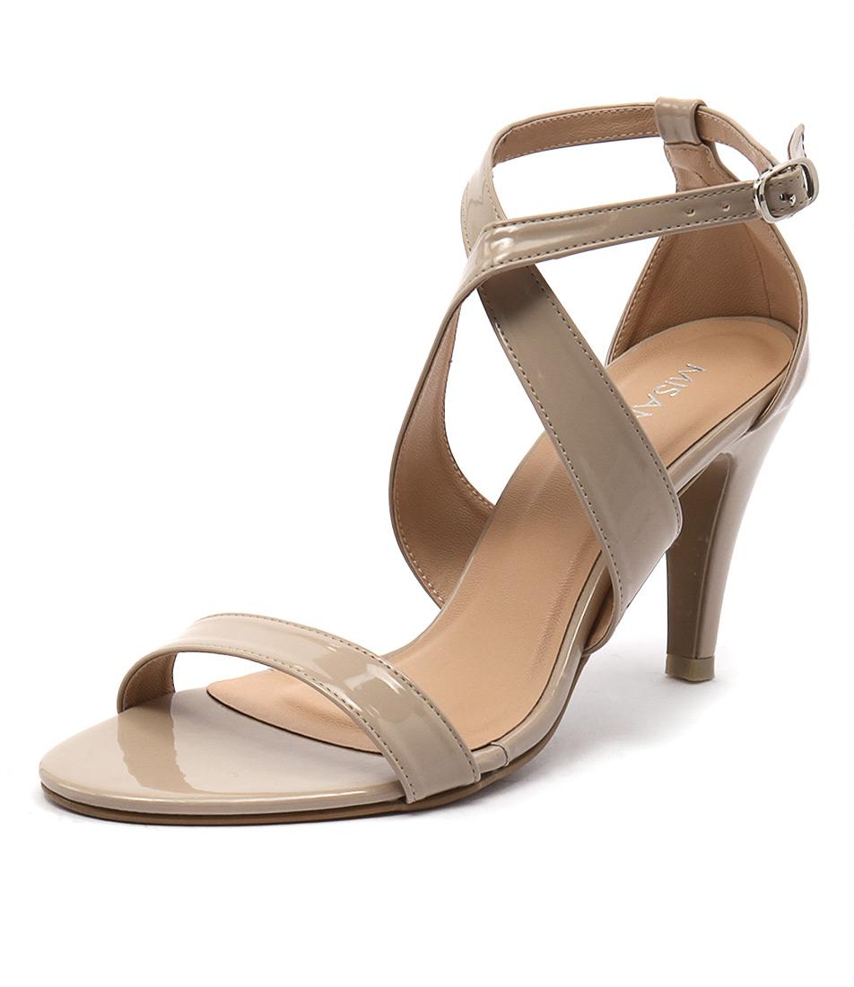 Misano Savvy Nude Patent Sandals