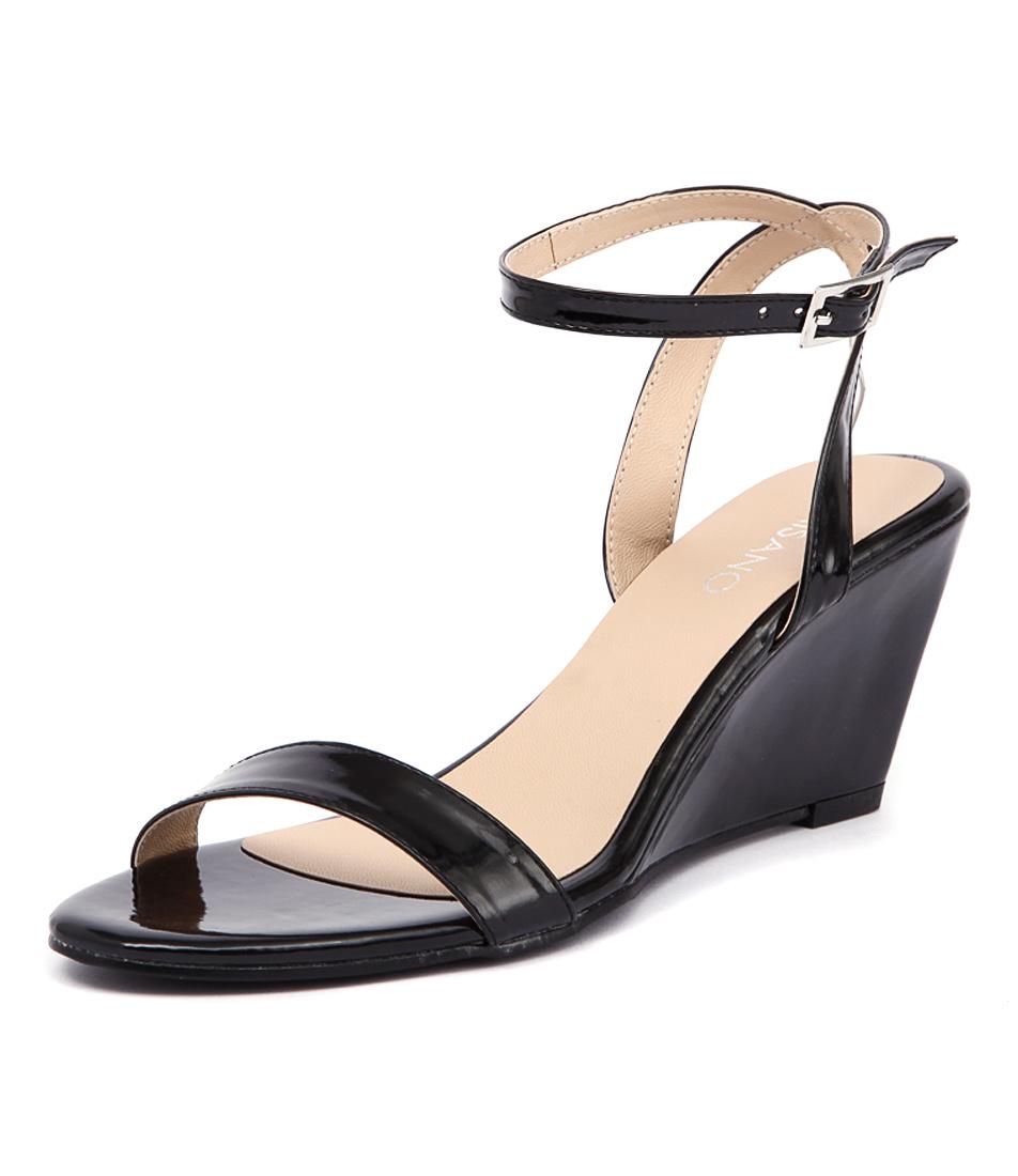 Misano Yates Black Patent Sandals online