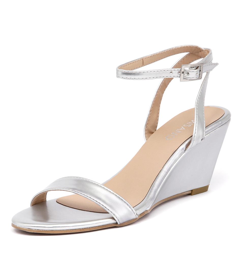 Misano Yates Silver Sandals