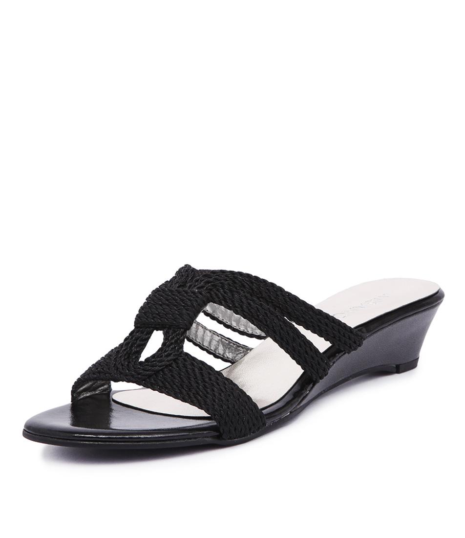 Misano Provence Black Sandals online