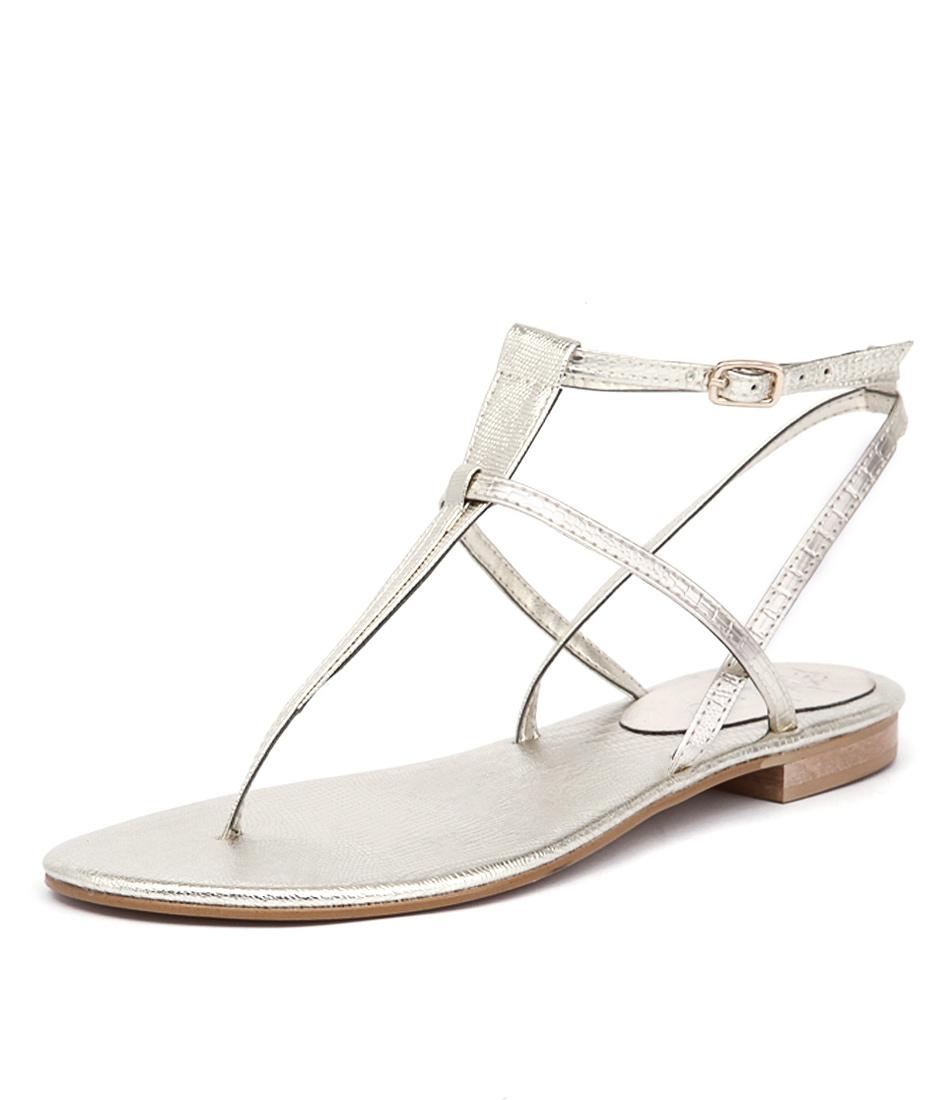 Misano Shizu Light Gold Sandals