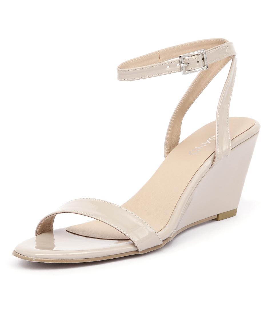 Misano Yates Nude Patent Sandals