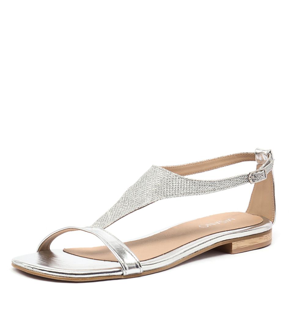 Misano Simmond Silver Sandals