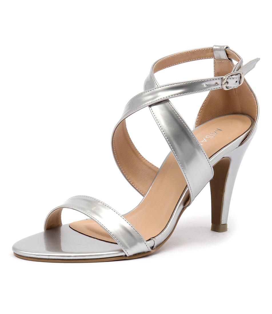 Misano Savvy Silver Sandals