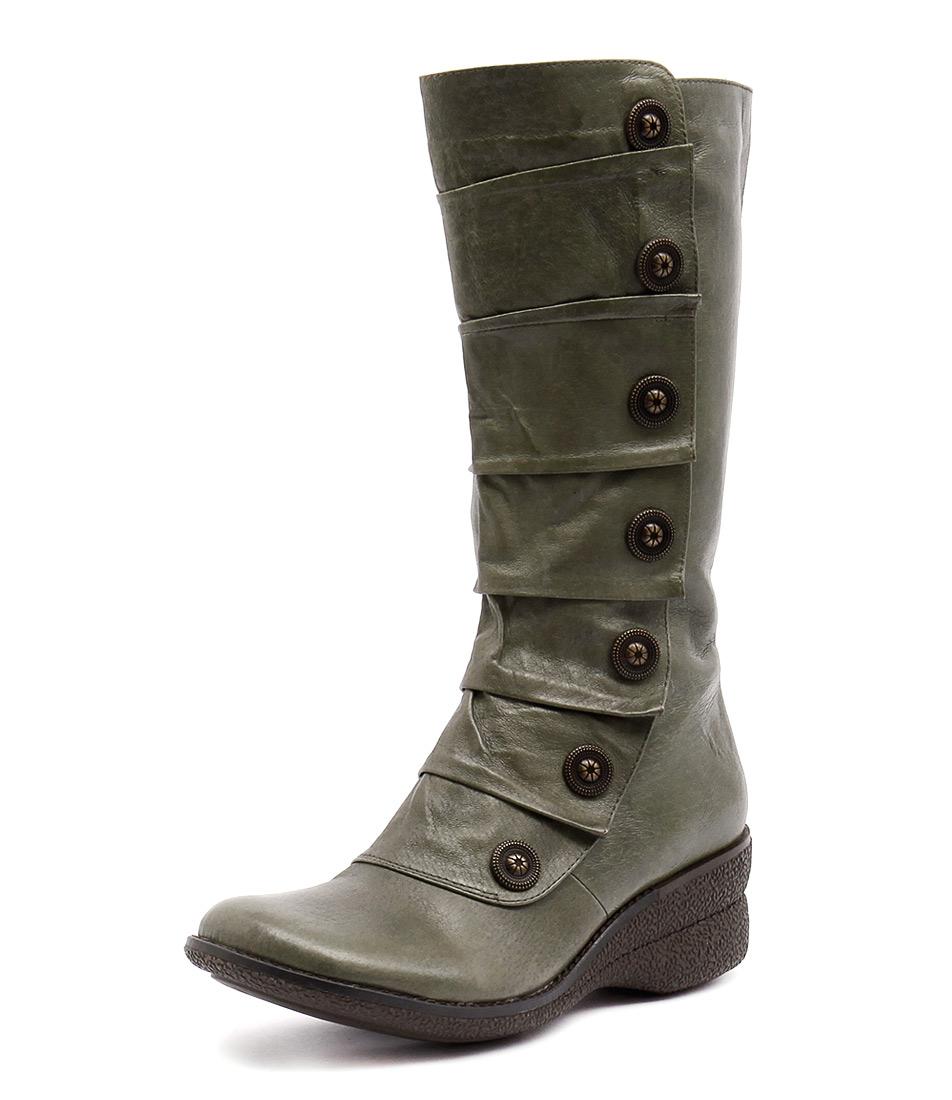 Miz Mooz Oracle Khaki Boots