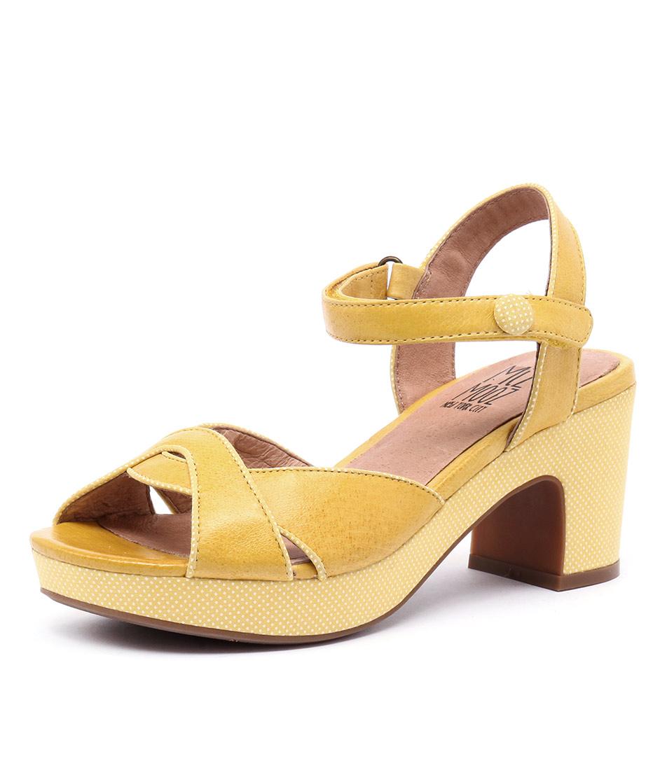 Miz Mooz Candy Yellow Sandals