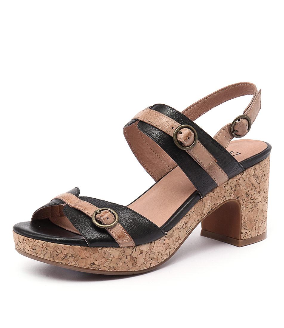 Miz Mooz Charming Black Sandals