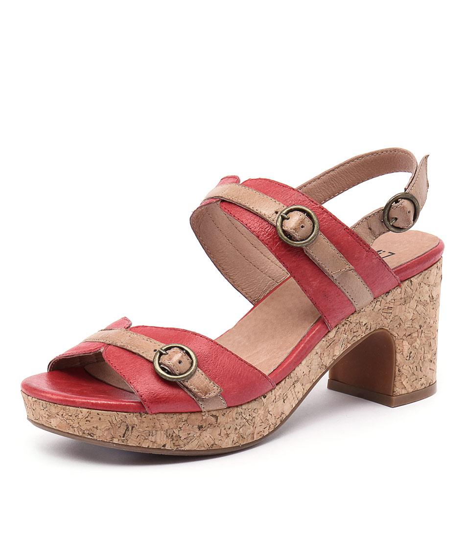 Miz Mooz Charming Red Sandals