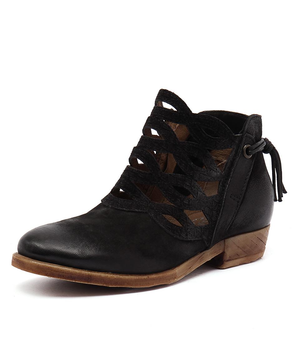 Miz Mooz Dido Black Boots