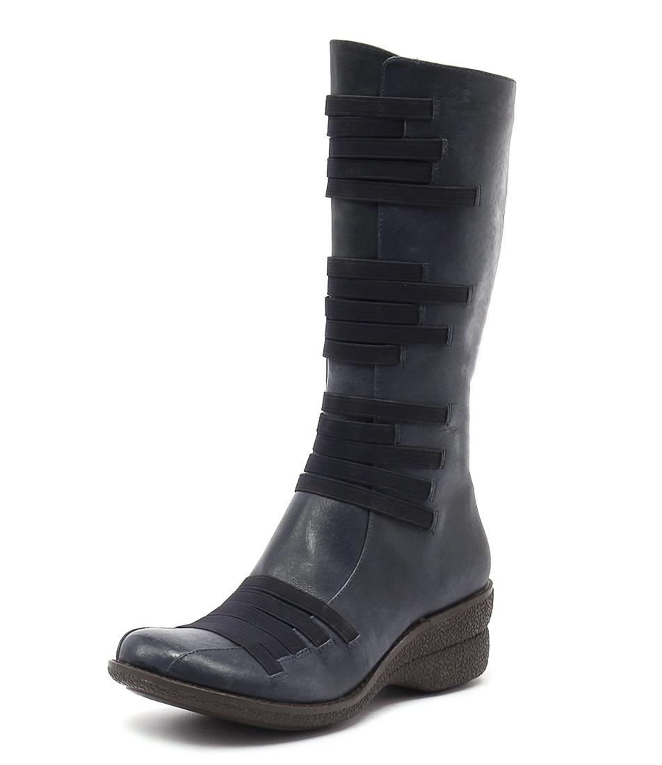 Miz Mooz Orso Navy Boots