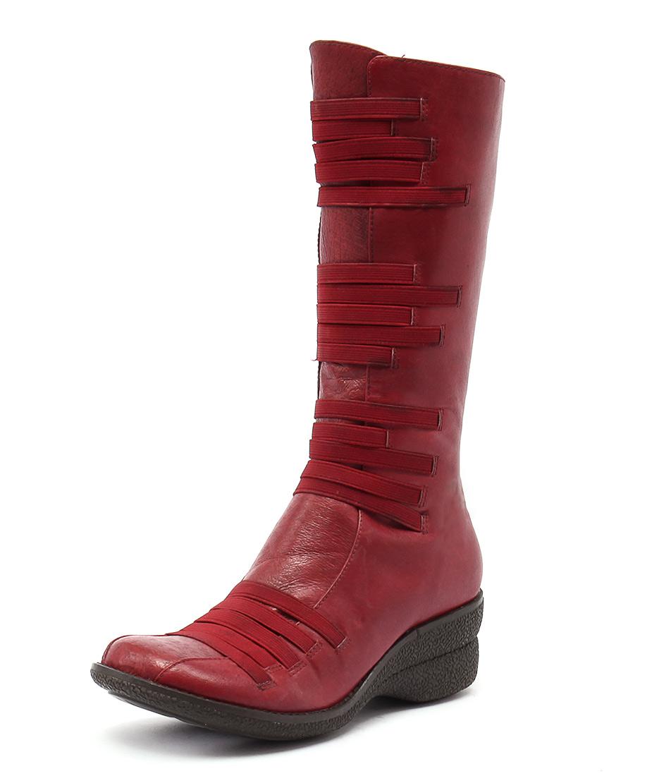 Miz Mooz Orso Red Boots
