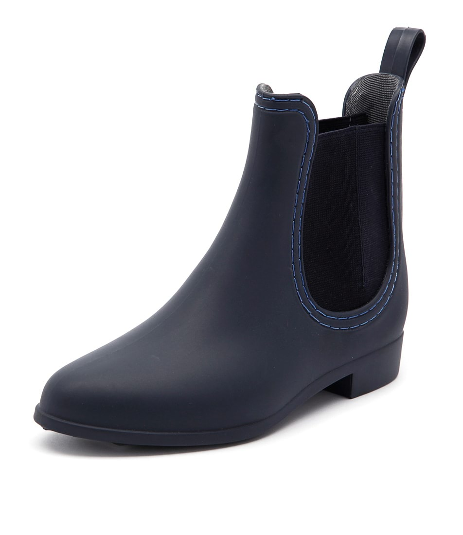Mollini Grizz Matte Navy Boots