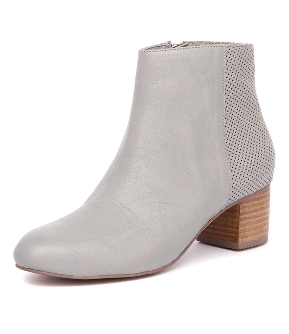 Mollini Brazen Light Grey Shrunken-Light Grey Pin Punch Boots online