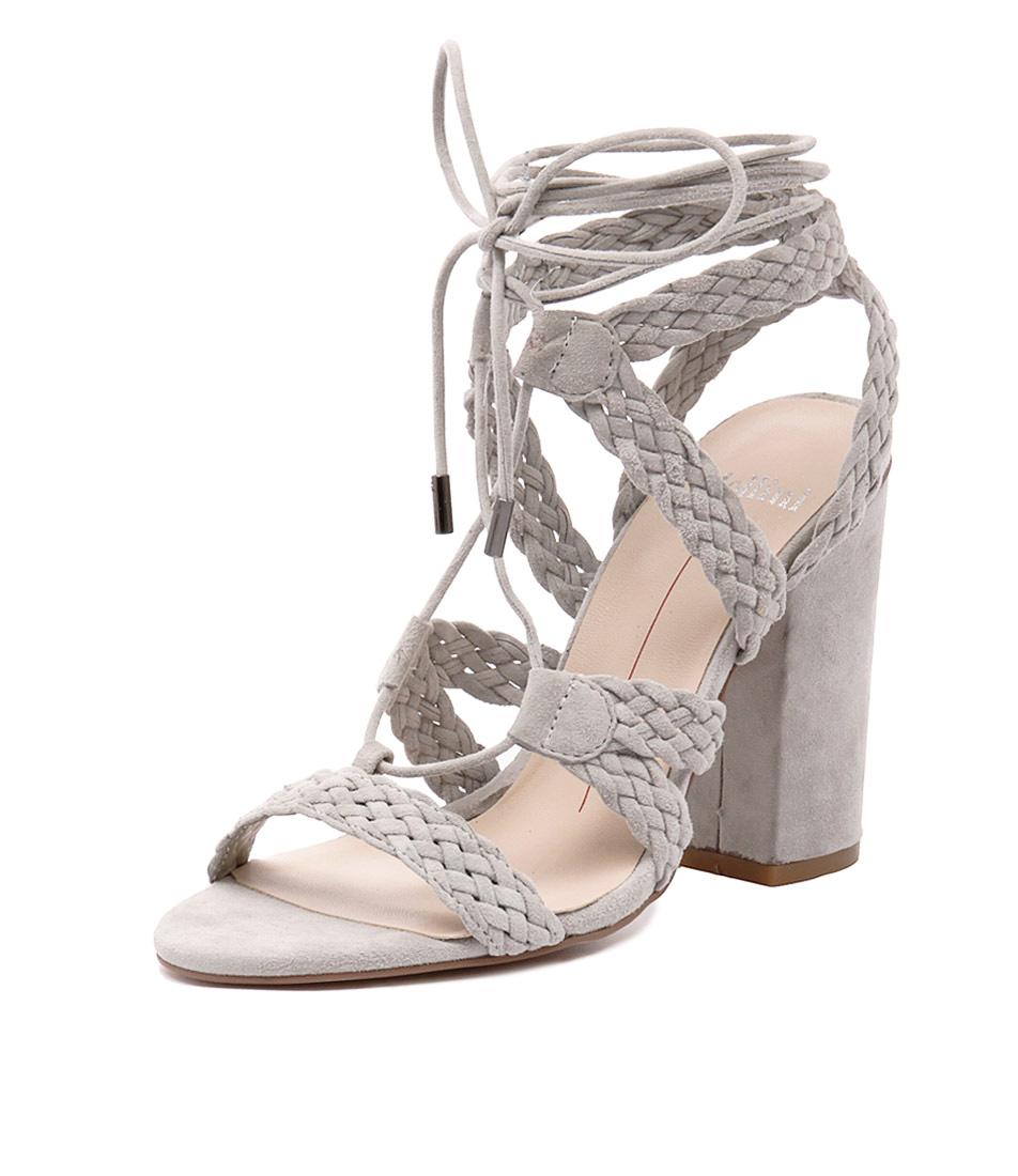 Mollini Fame Grey Suede Sandals