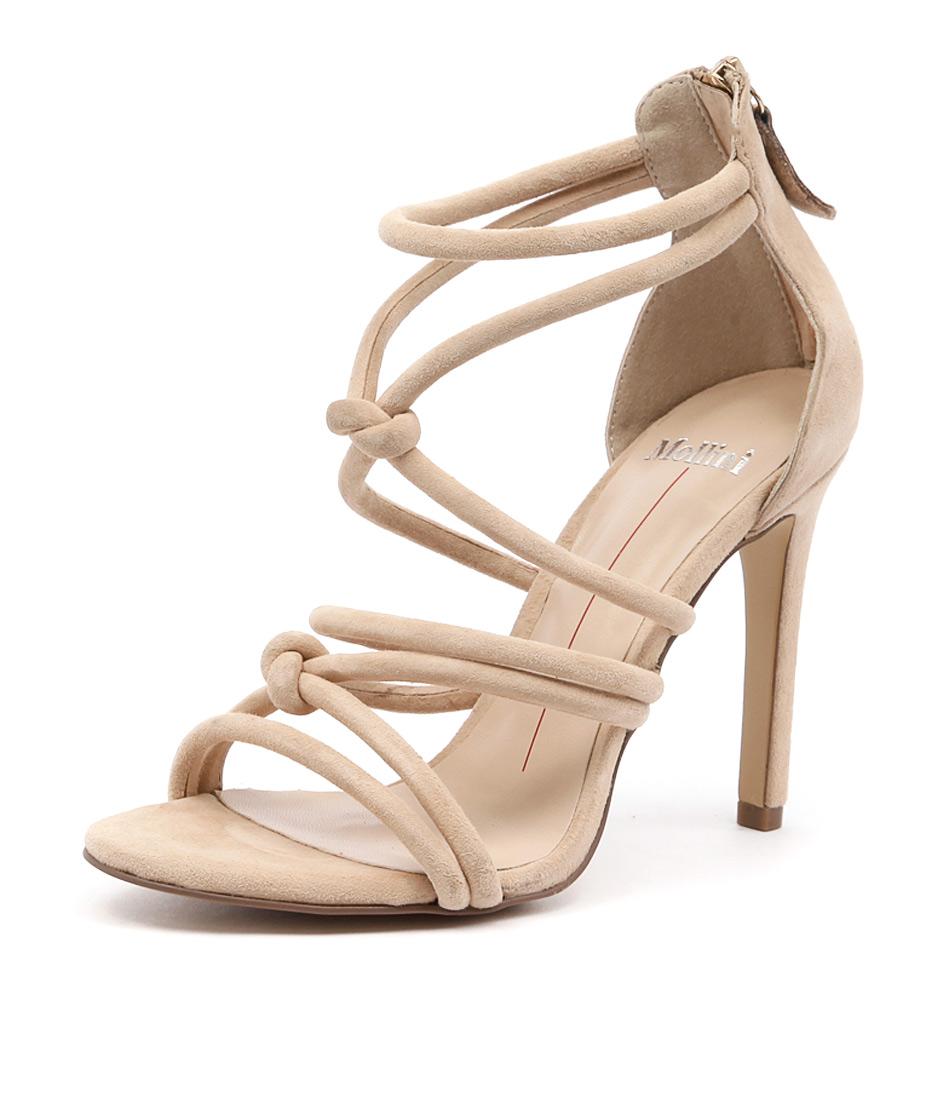 Mollini Lianey Nude Suede Sandals