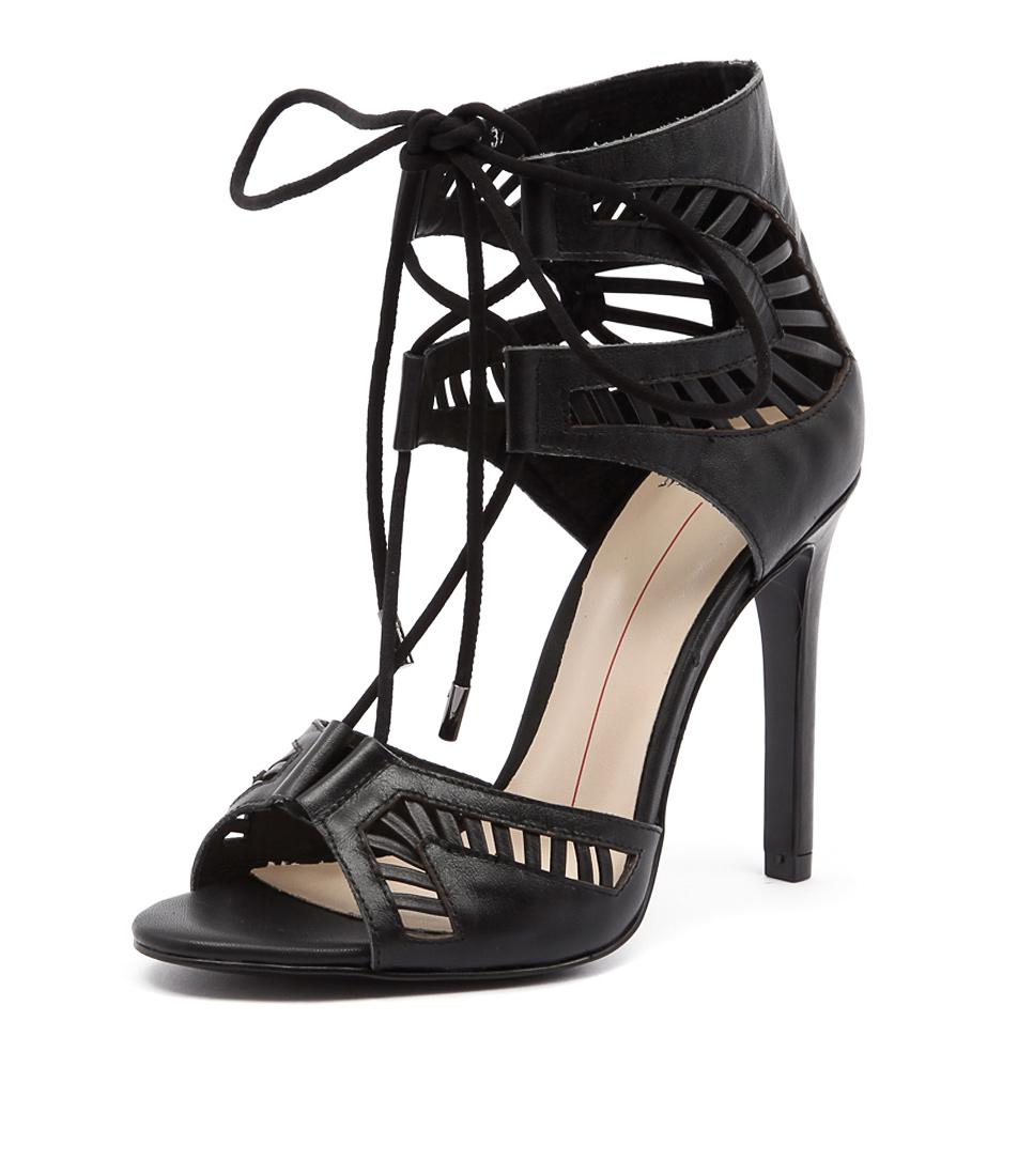 Mollini Luisa Black Sandals