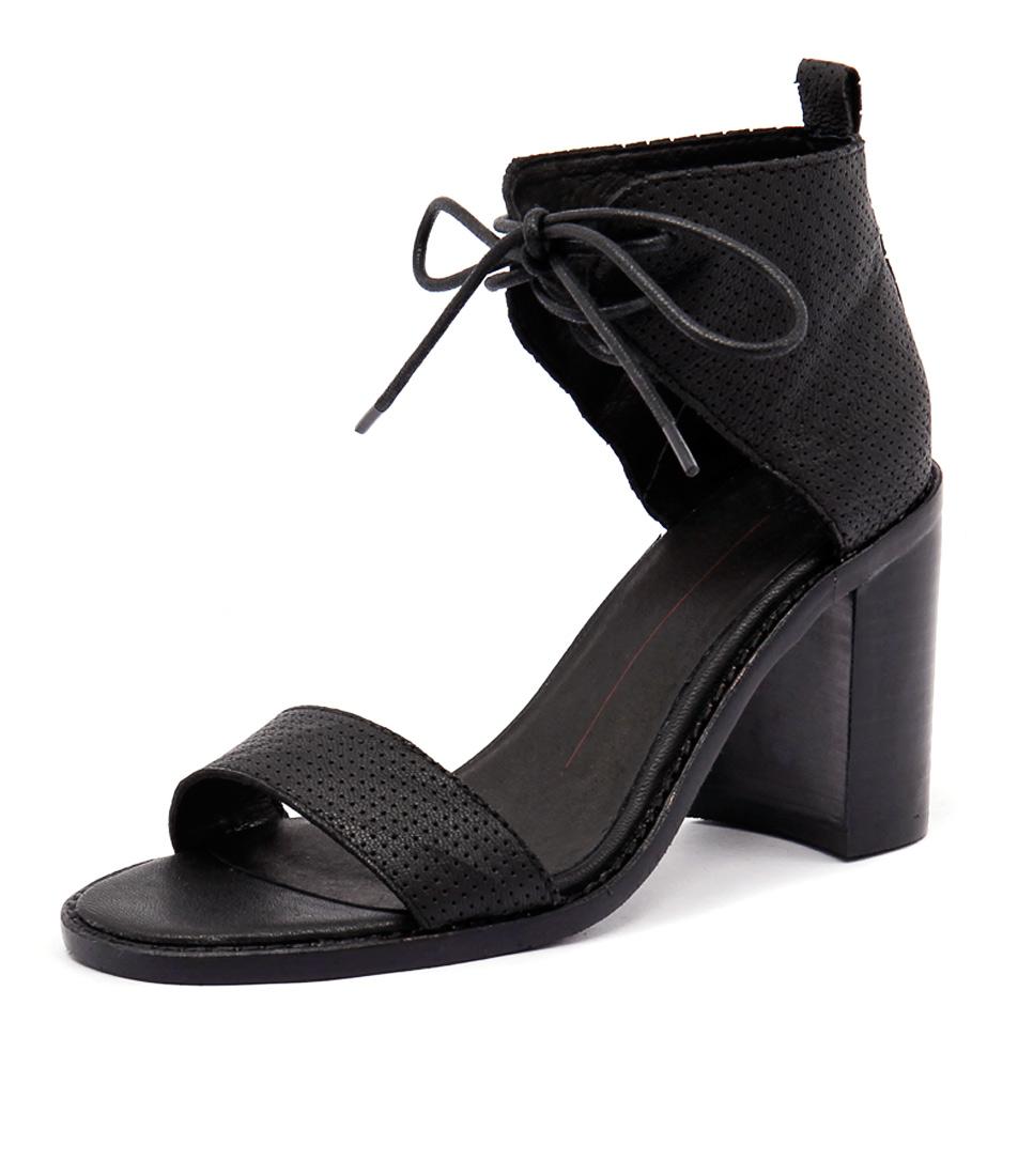 Mollini Jettie Black Punch Sandals online
