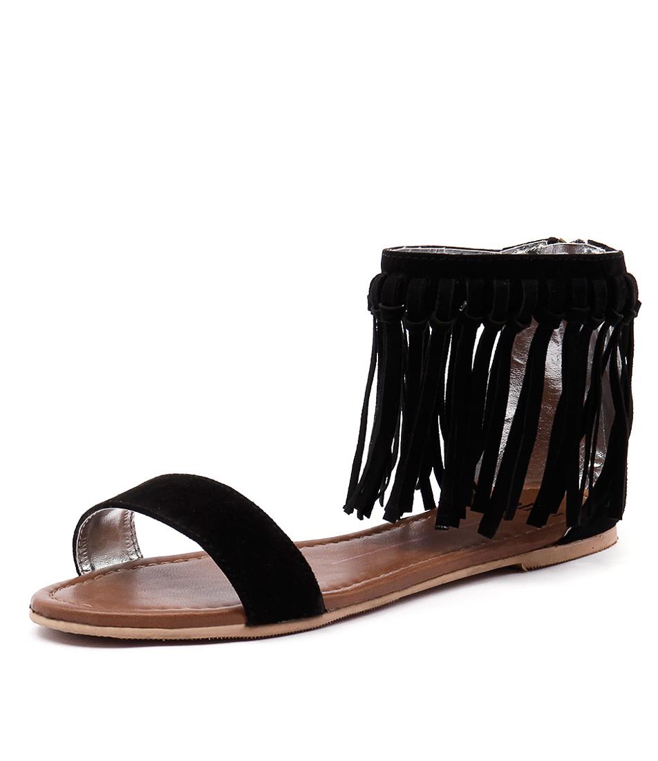 Mollini Seth Black Sandals