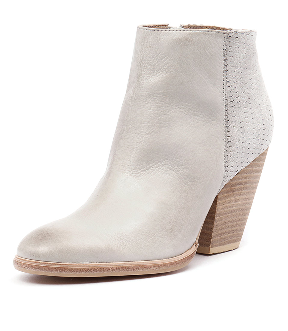 Mollini Agassi Misty Leather-Misty Cut Suede Boots online