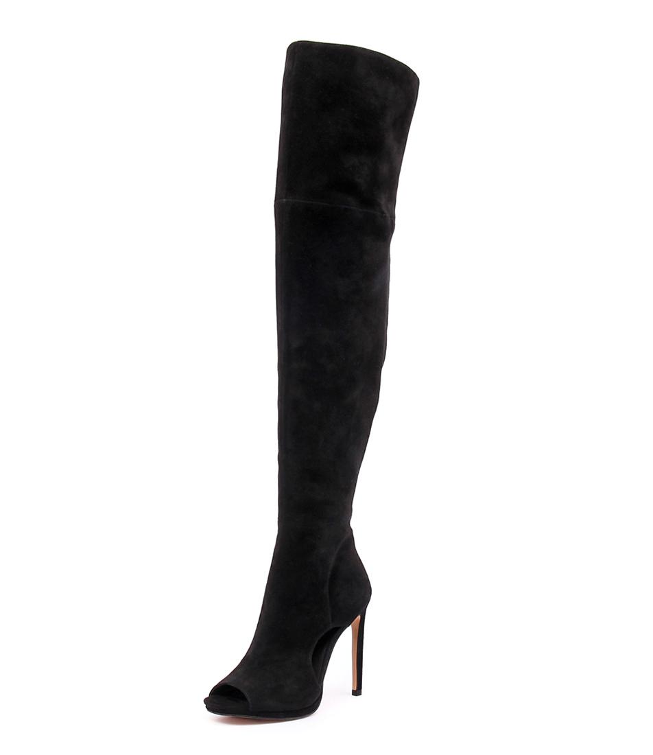 Mollini Cyla Black Suede Boots