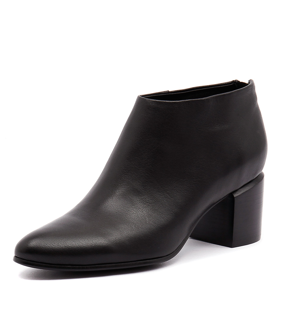 Mollini Hindias Black Leather Boots