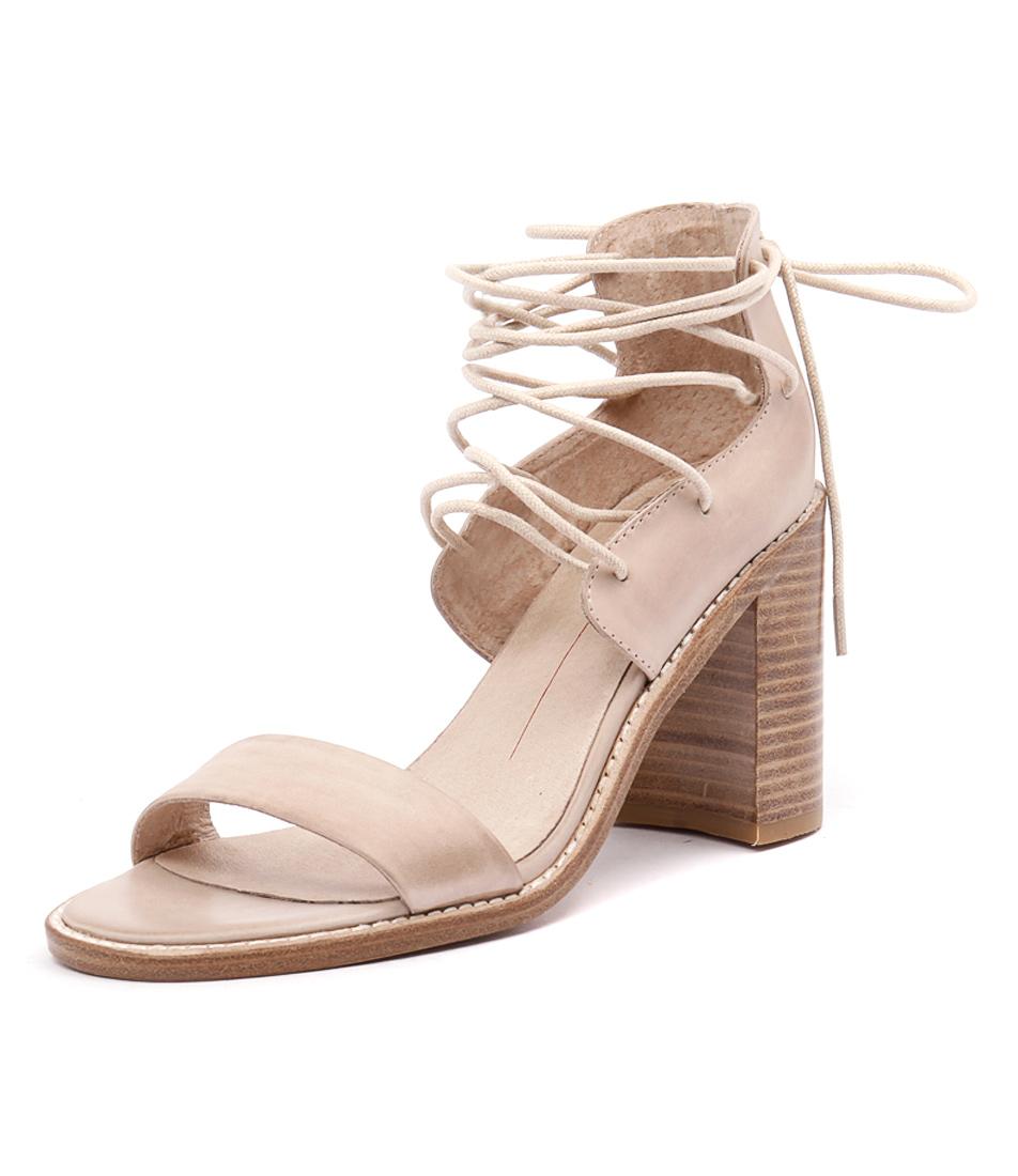 Mollini Juliez Nude Leather Sandals