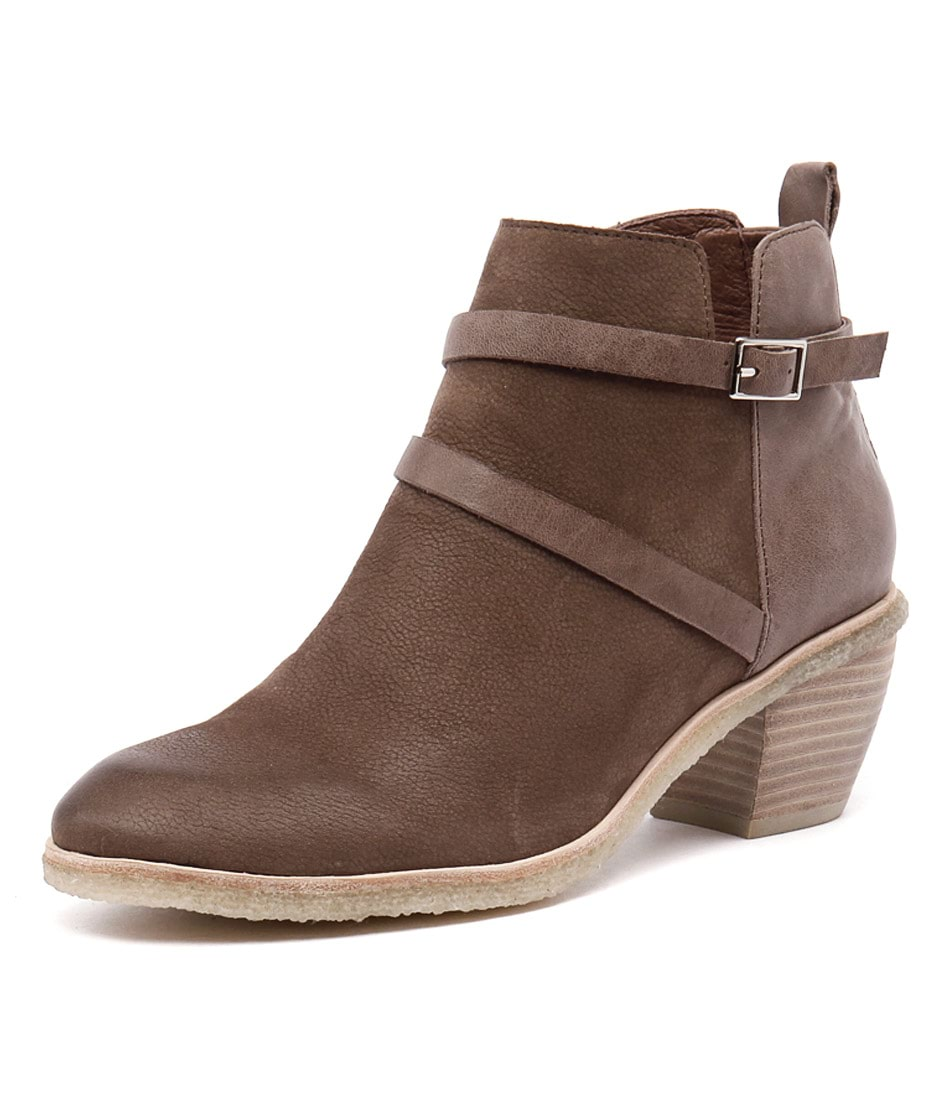Mollini Laster Mocca Nubuck-Mocca Leather Boots online