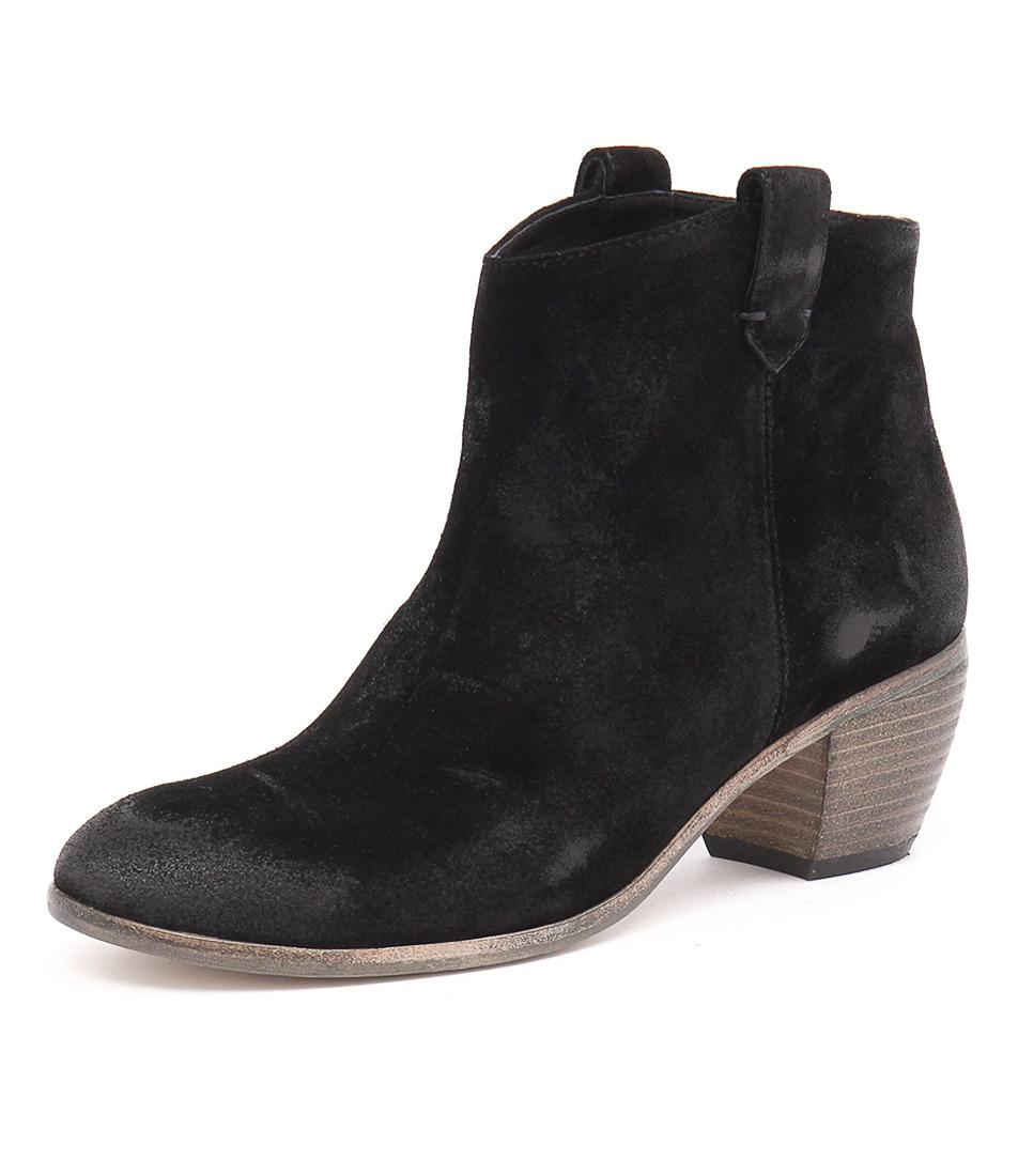 Mollini Melana Black Suede Boots