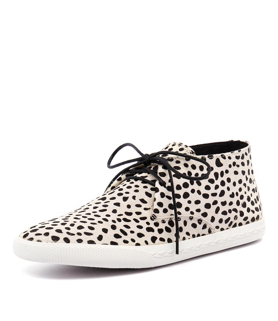 Mollini Piant White-Black Pony Sneakers