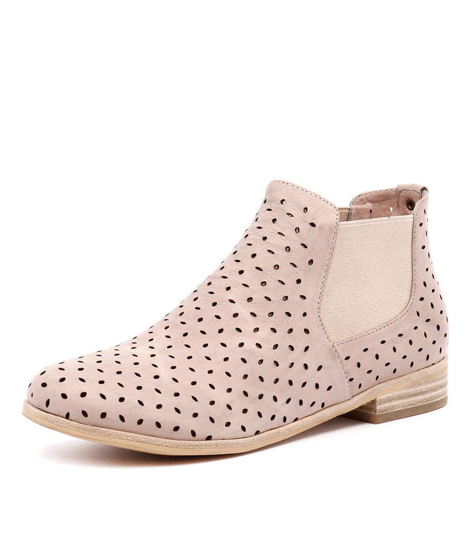 Mollini Quonut Dust Nude Leather Boots online
