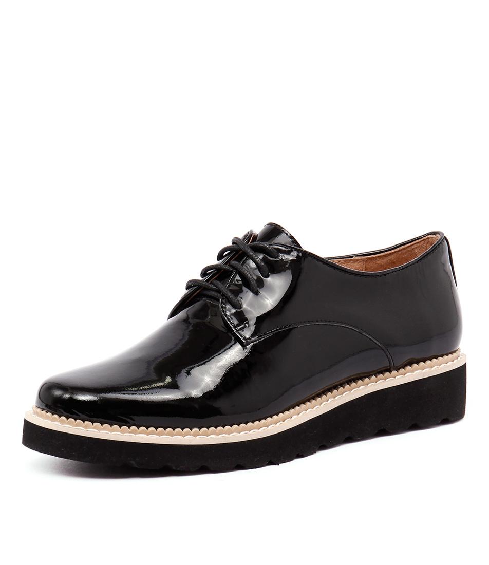 Mollini Their Black Patent-Black Sole Shoes