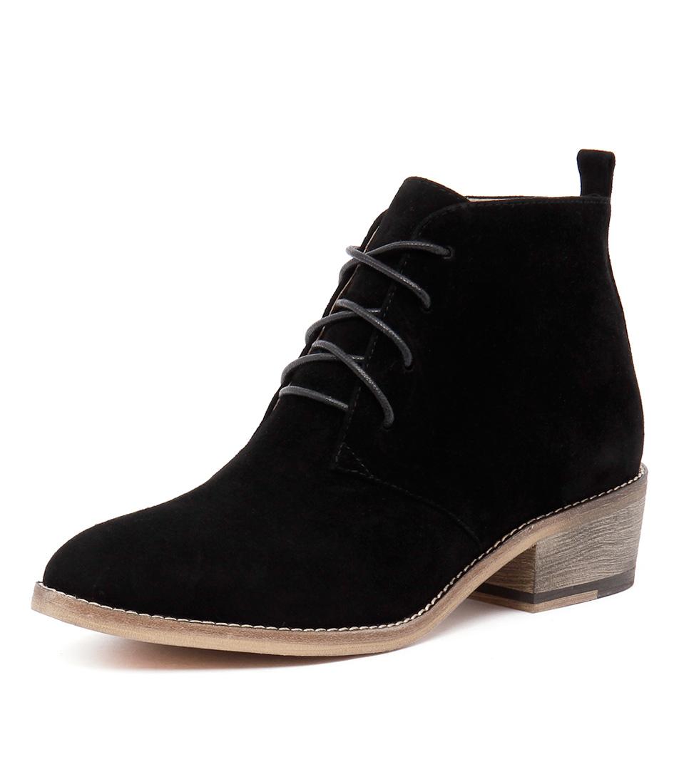 Mollini Zanie Black Suede Boots