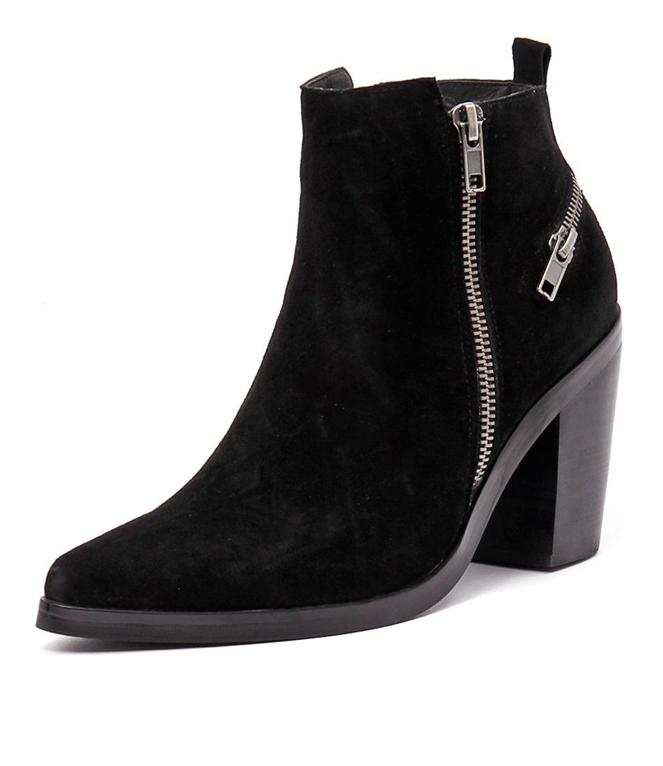 Mollini Rogie Black Suede Boots