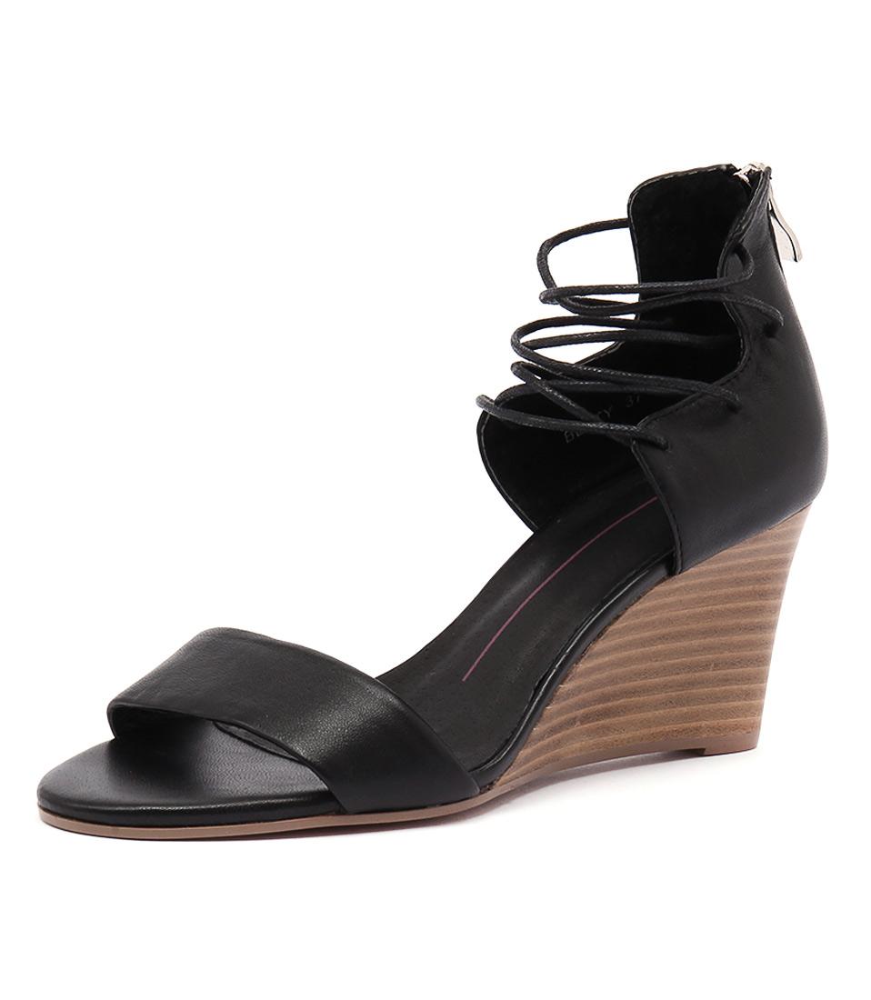 Mollini Beaty Black Leather Sandals online