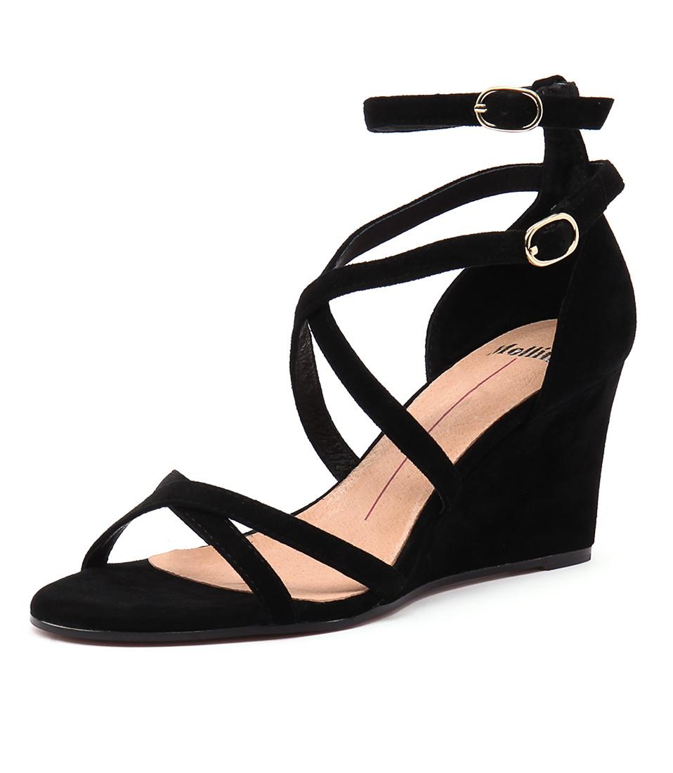 Mollini Ballroom Black Sandals