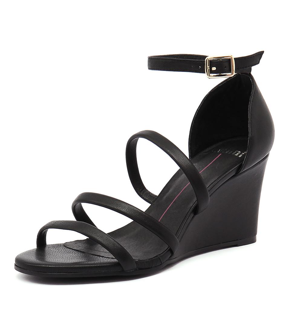Mollini Bell Black Sandals