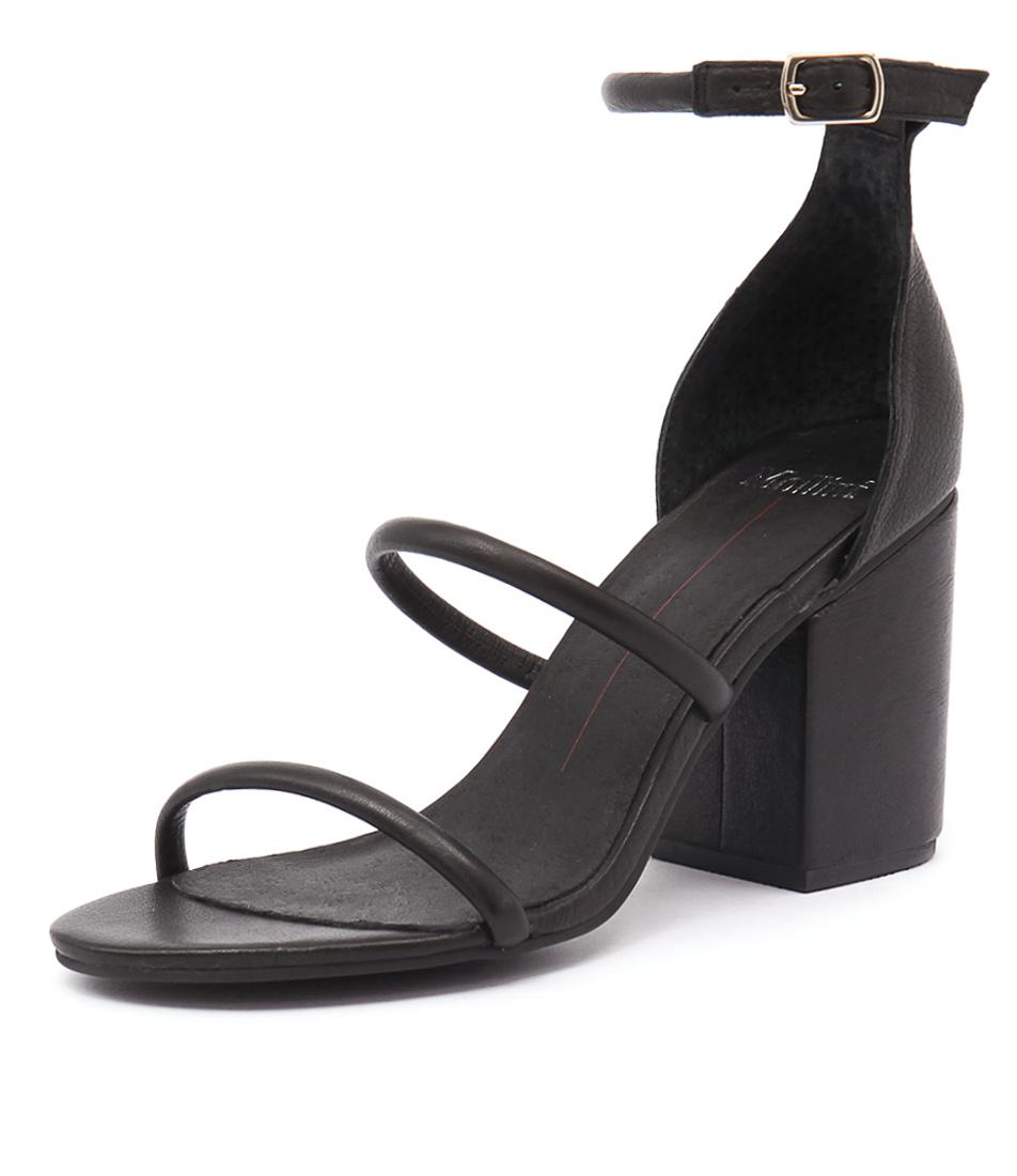 Mollini Kuppen Black Sandals