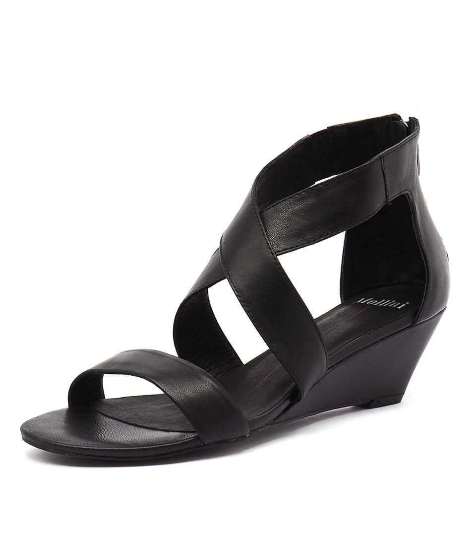 Mollini Mystar Black Sandals