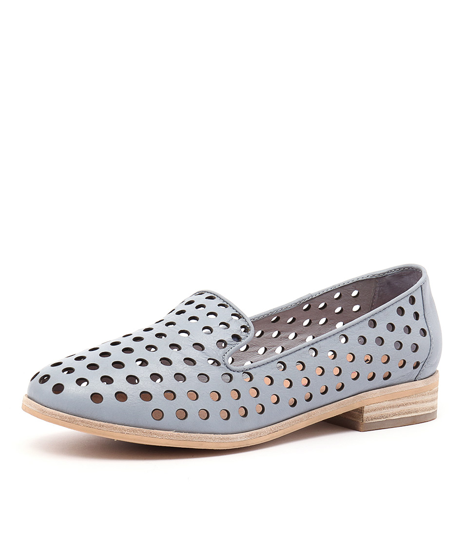 Mollini Queff Powder Blue Loafers & Slip-Ons