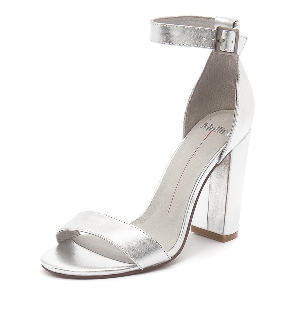 Mollini Martini Silver Sandals