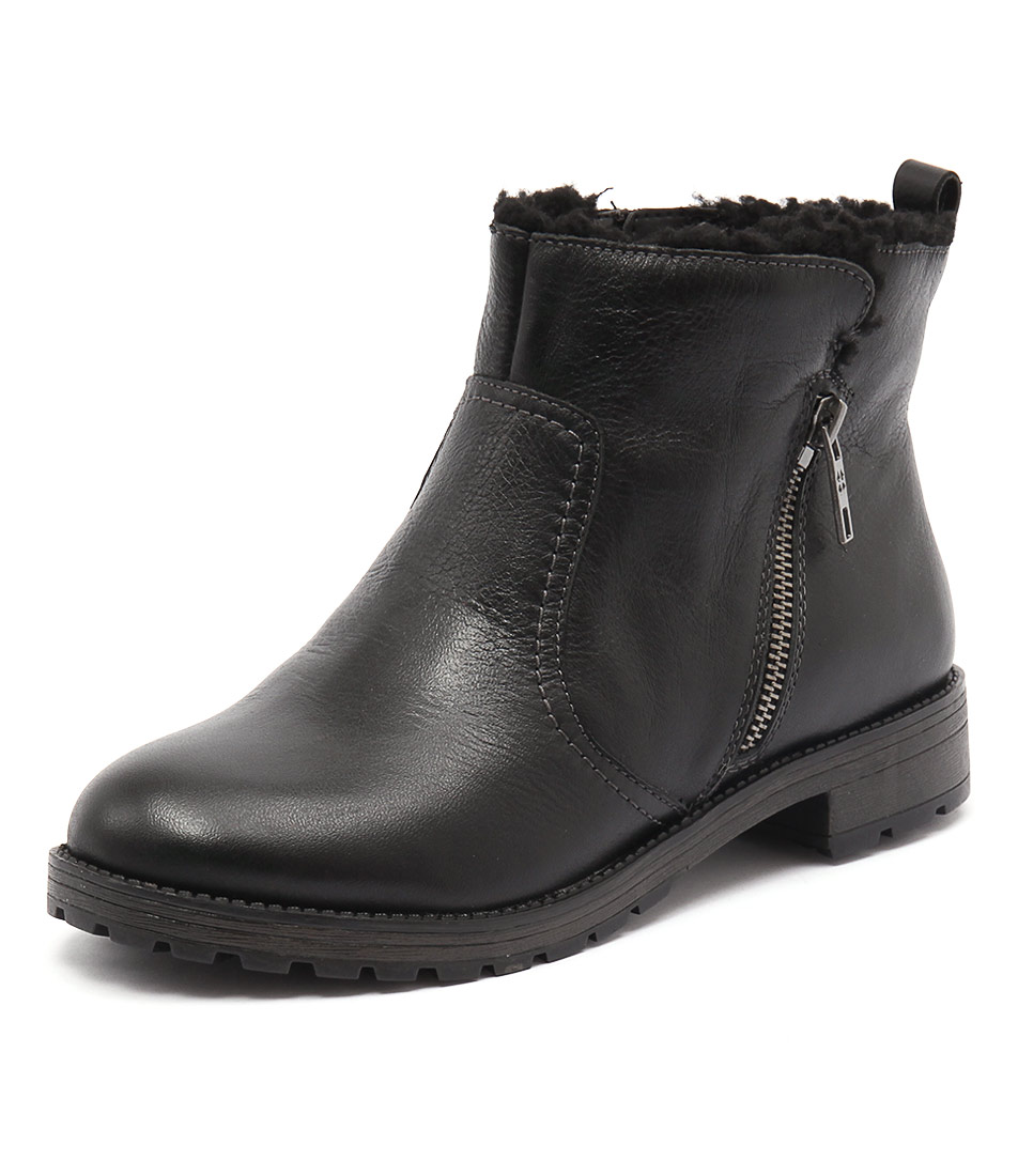 Naturalizer Tamsie Black Boots