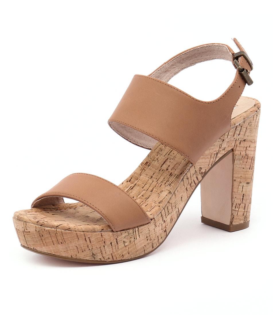 Nude Soul Tan Leather Sandals