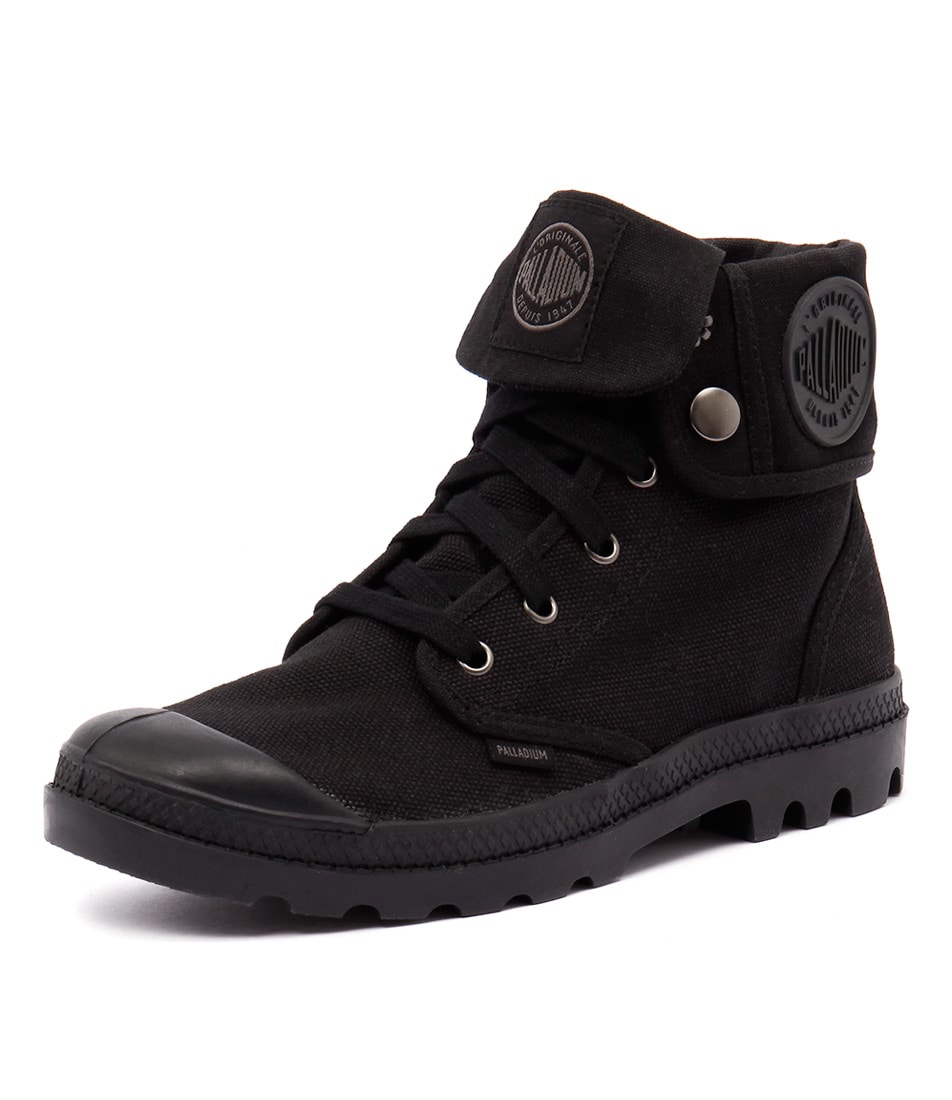 Palladium Baggy Black Boots
