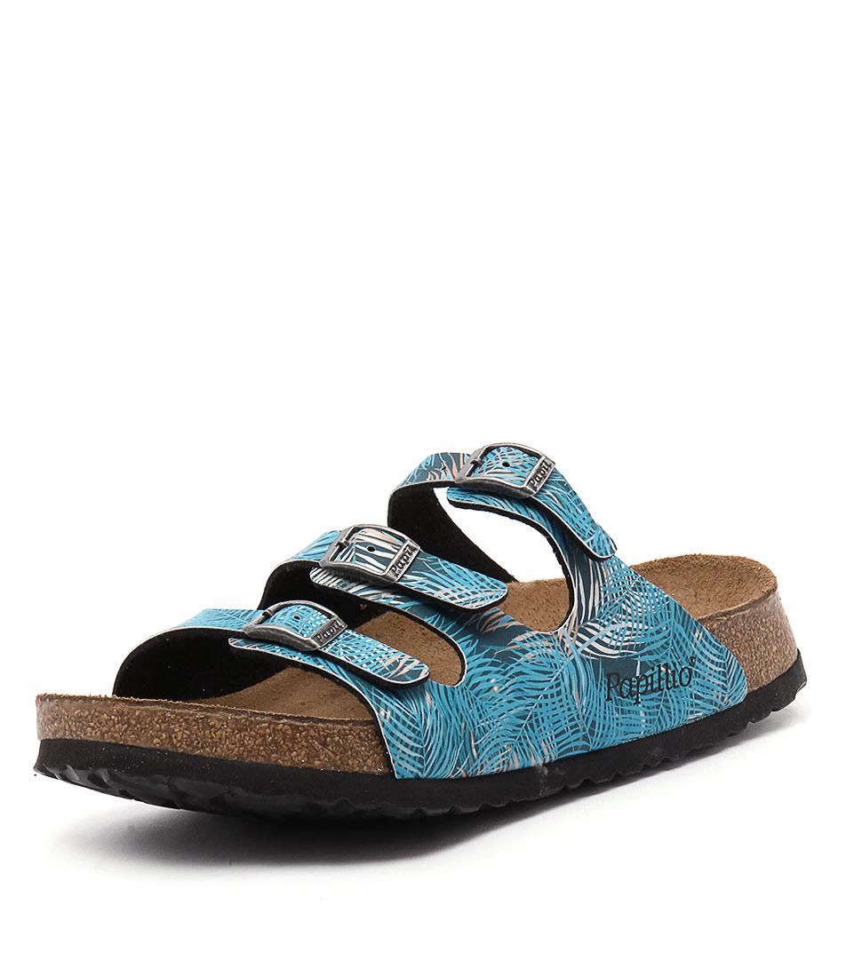 Papillio by Birkenstock Florida Tropical Blue Sandals