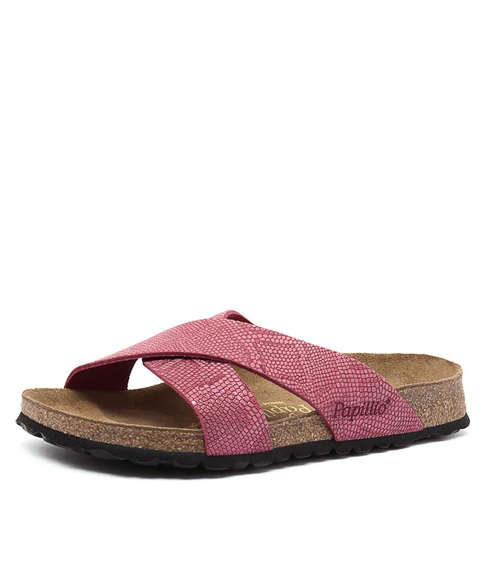 Papillio by Birkenstock Daytona Rose Python Sandals