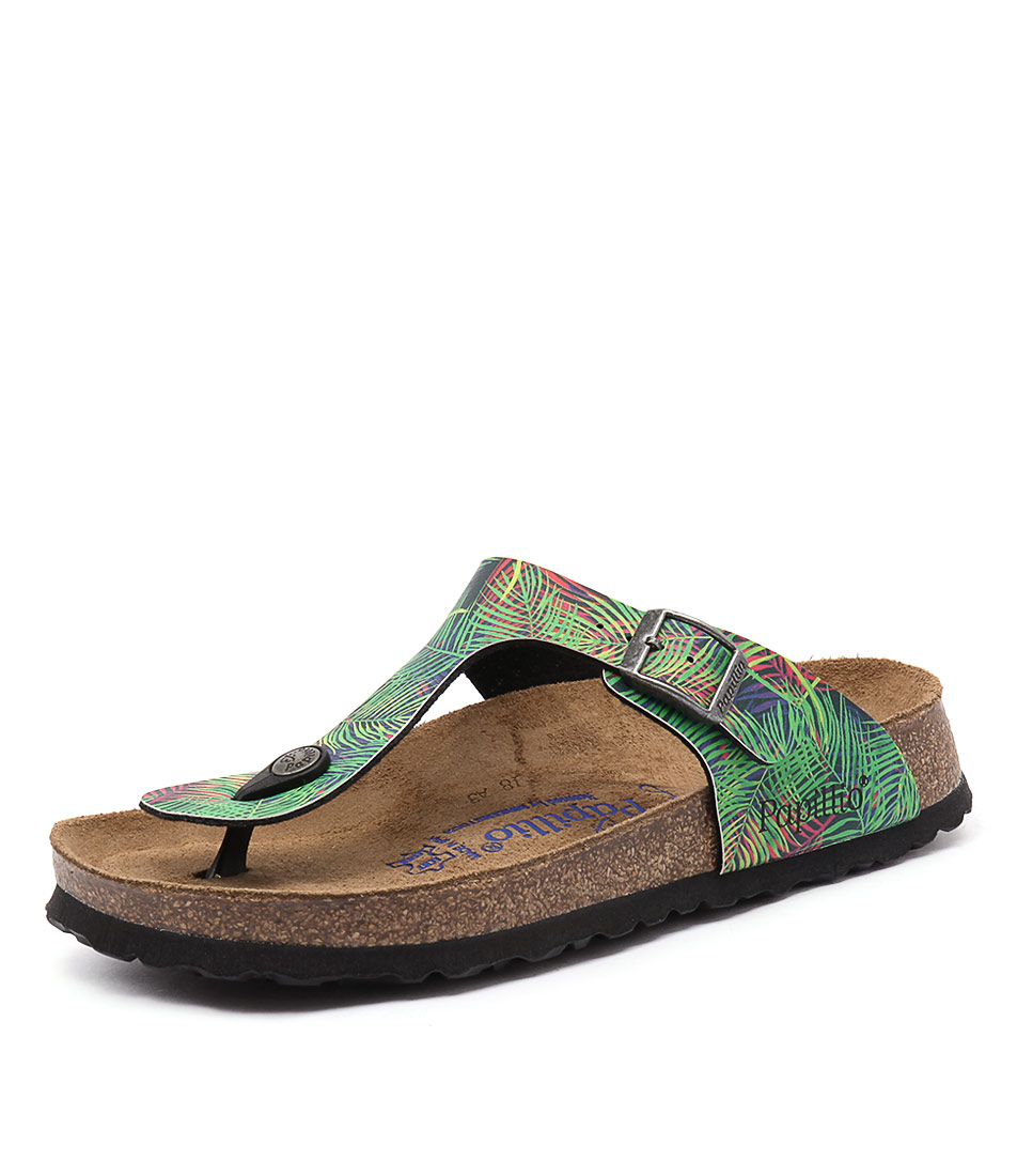 Papillio by Birkenstock Gizeh Tropical Leaf Sandals online