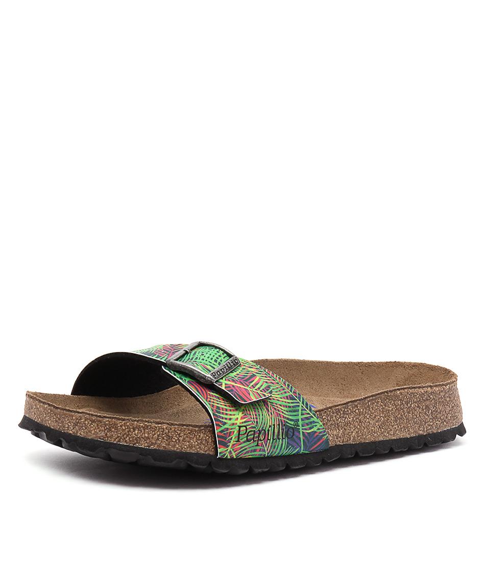 Papillio by Birkenstock Madrid Tropical Leaf Birko-Flor Sandals