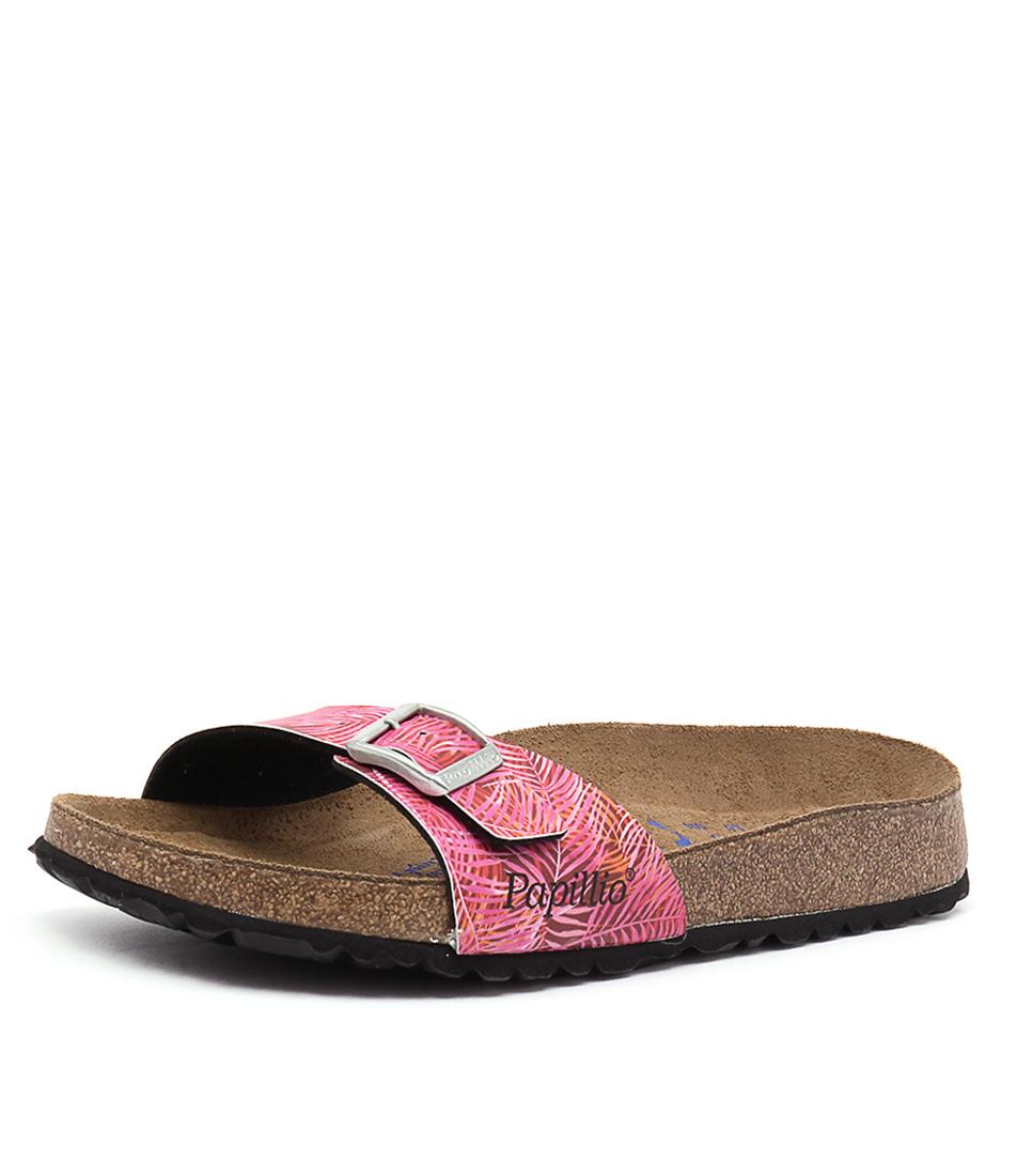Papillio by Birkenstock Madrid Tropical Pink Birko-Flor Sandals